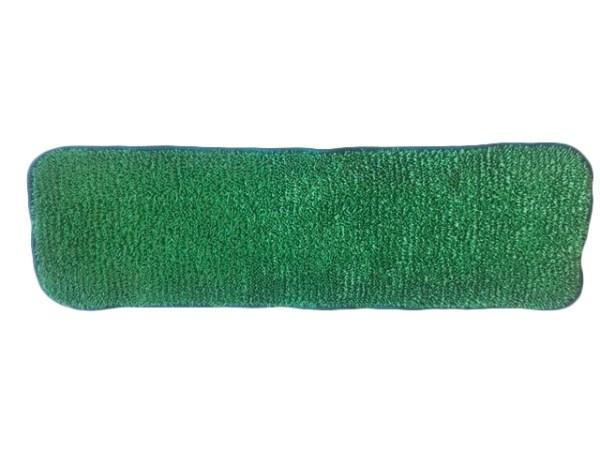Microfibermoppe basis, velcro, 40 cm