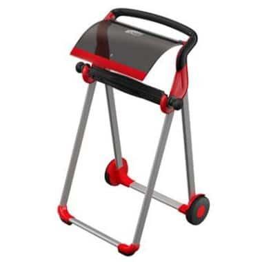 Dispenser Aftørringsrulle Tork W1 Gulvstativ op til 48 cm Rød/Sort