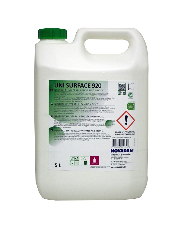 Uni Surface 920 - 5 liter Svanemærket