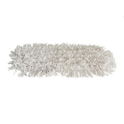 Garnmoppe budget, med lommer, 40 cm, ren bomuld.