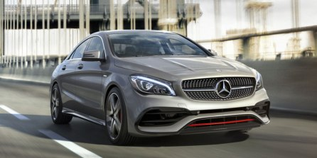auto mercedes benz cla 4 door coupe