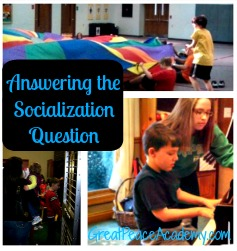 Answering the Socialization Question | Great Peace Academy