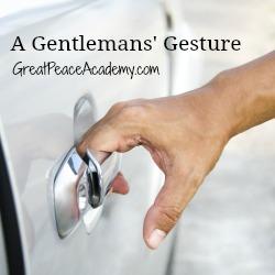 Closeup of man hand opening a car door