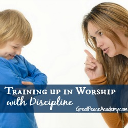 Training up in worship with discipline. | Great Peace Academy