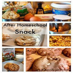After Homeschool Snack, Not a Chocolate Chip Cookie Recipe | Great Peace Academy