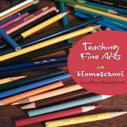 Teaching Fine Arts in Homeschool   Great Peace Academy