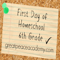 Homeschool 6th Grade thumbnail