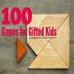 100 Games for Gifted Thumbnail