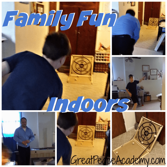 Family Fun Game for Indoors or Outdoors   Renee at Great Peace