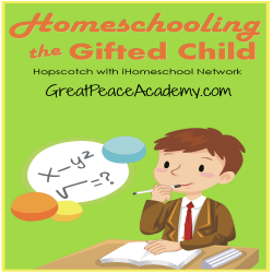 Homeschooling the Gifted Child   Great Peace Academy