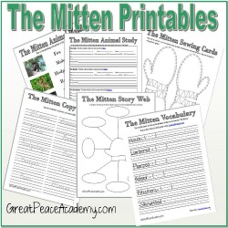 The Mitten Printable Thumbnail
