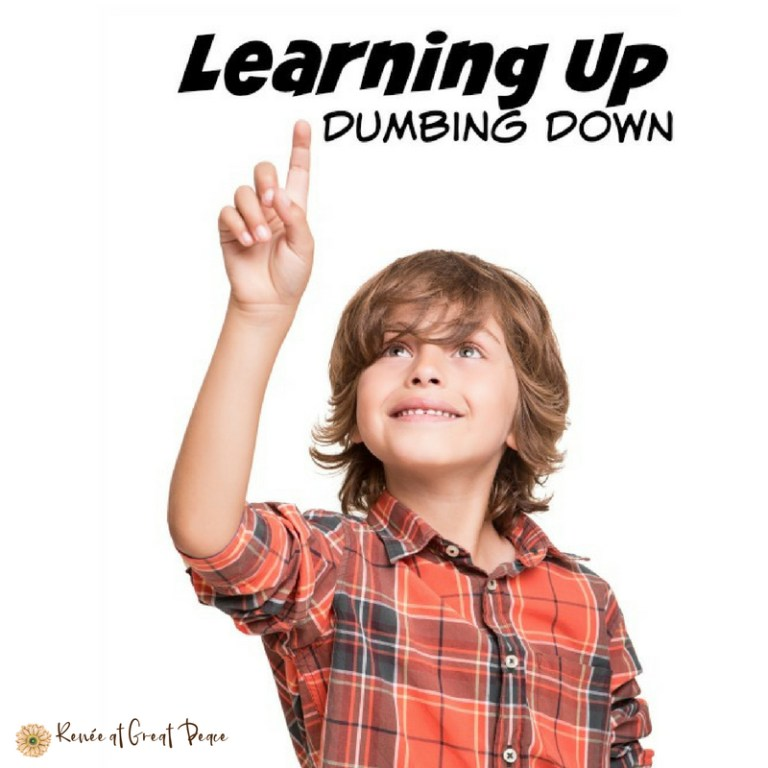 Gifted Education in America Learning UP, Dumbing Down   Renée at Great Peace #homeschool #gifted #gtchat