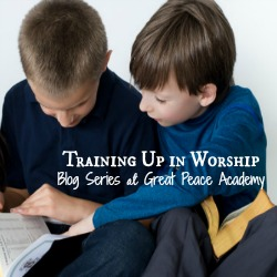 Training up in worship series at Great Peace Academy