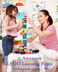 LEGO Learning Pages