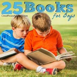 25 Books for Boys List   Great Peace Academy