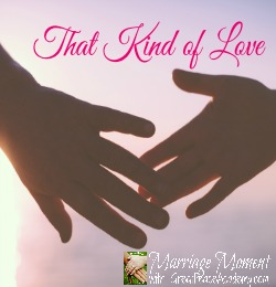 That Kind of Love | Marriage Moment with Renée at Great Peace Academy.