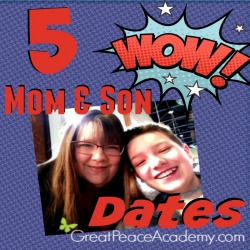 5 Mother and Son Dates | Great Peace Academy