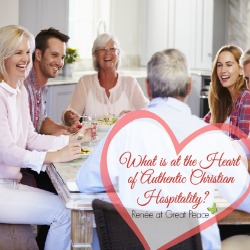 What is Authentic Christian0 Hospitality by Renée at Great Peace Academy