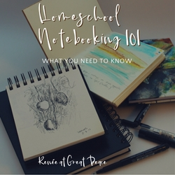 Homeschool Notebooking 101 What You Need to Know