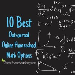 10 Best Outsourced Online Homeschool Math Options   Great Peace Academy