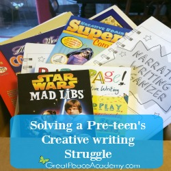 Solving Creative Writing Struggle | Great Peace Academy #ihsnet @rainbowresourc1