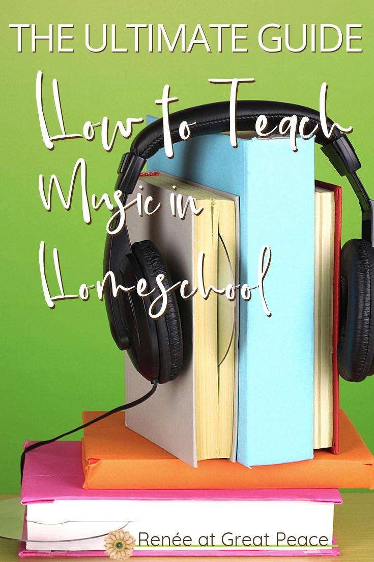 How to Teach Music in Homeschool  @GreatPeace  #homeschool #music #muiscappreciation #ihsnet
