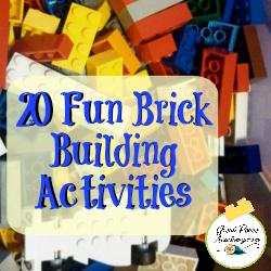 20 Fun Brick Building Activities   GreatPeaceAcademy.com #LEGO