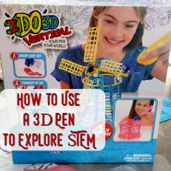 Ideas for Teaching STEM utilizing a 3d Pen in Homeschool | GreatPeaceAcademy.com