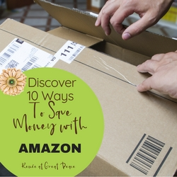 Discover 10 Ways to Save Money with Amazon   Renée at Great Peace
