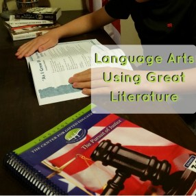 A New Find: Excellent Language Arts Using Great Literature   GreatPeaceAcademy.com #ihsnet #gifted