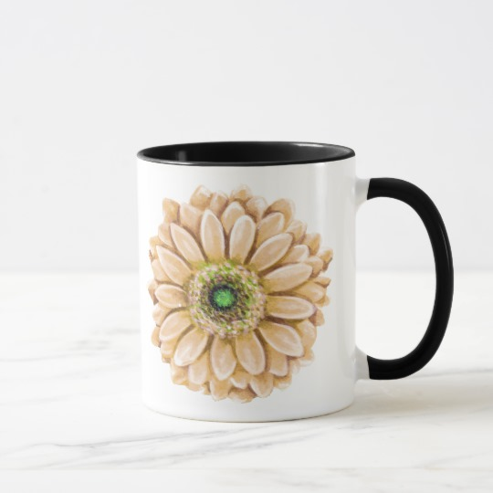 Floral Coffee Mug | Renée at Great Peace #homeschool #ihsnet