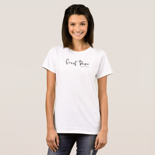 Great Peace Tee, with Isaiah 54:13 reference. | Renée at Great Peace #homeschool #ihsnet