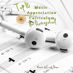 Tophttp://creatingbeautifully.com/80-hashtags-artists/ 10 Music Appreciation Curriculum for Homeschool | Renée at Great Peace #homeschool #ihsnet #music