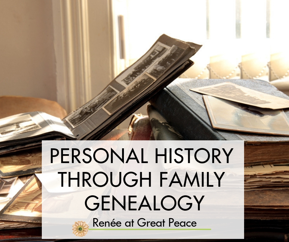 Putting History into Perspective with Family Genealogy | Renée at Great Peace #homeschool #history #ihsnet