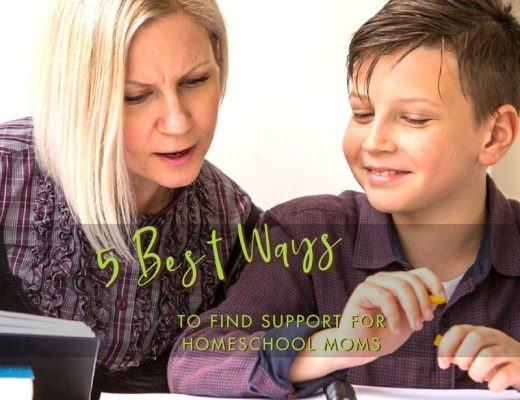 5 Best Ways to Find Homeschool Mom Support| Renée at Great Peace