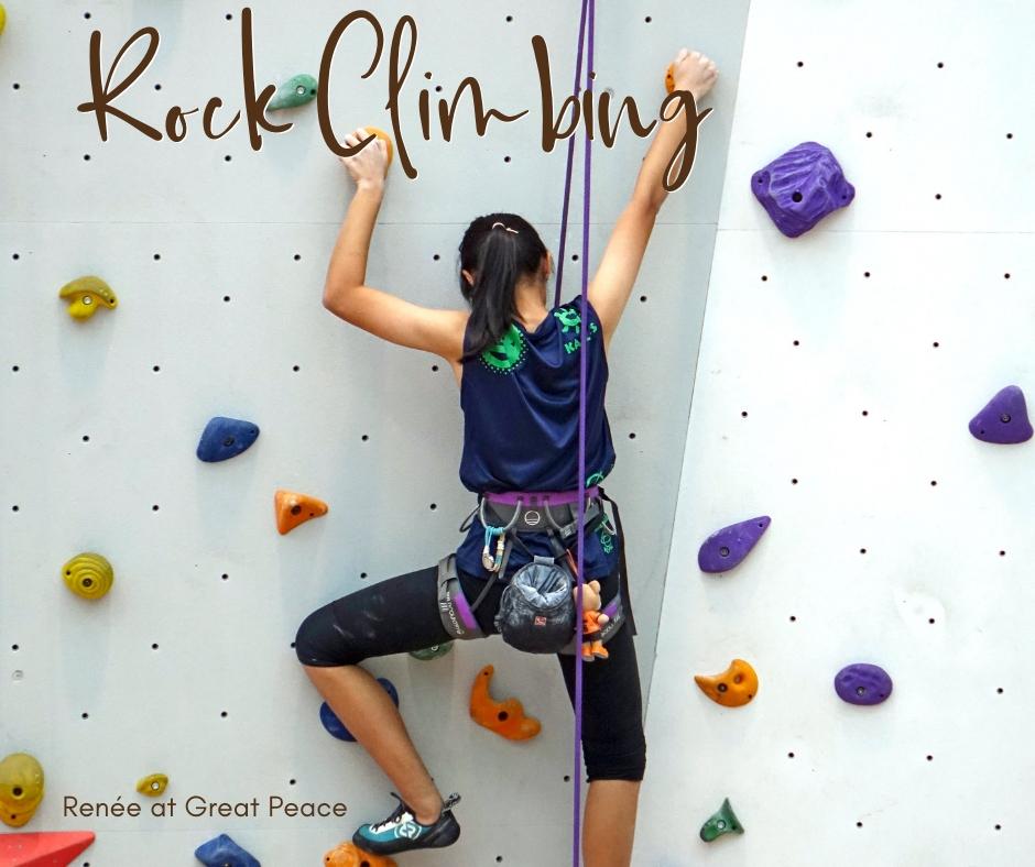 Rock Climbing & 51 Other Family Bonding Activities | Renée at Great Peace #familybonding #family #activities