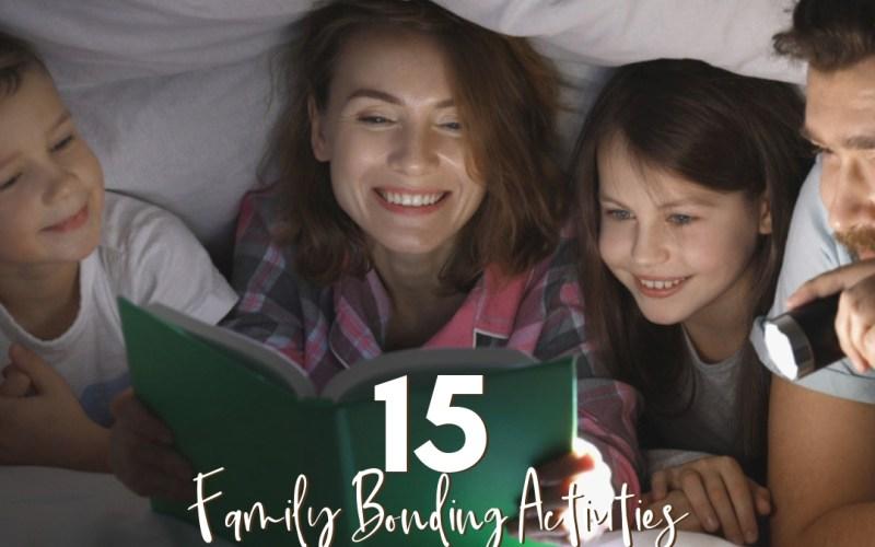 15 Family Bonding Activities Your Family will Love   Renée at Great Peace #family #familybonding #familyactivities #ihsnet