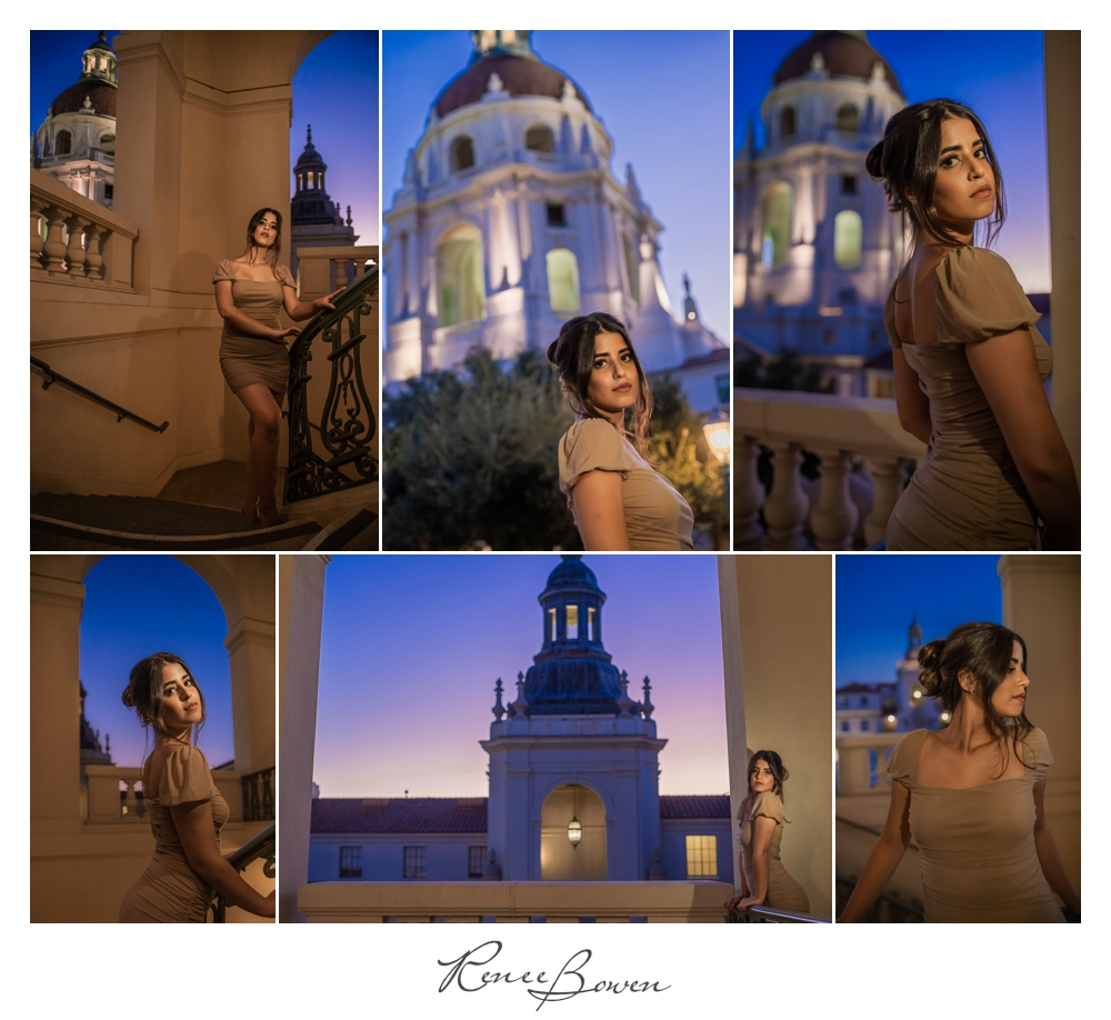pasadena city hall photoshoot