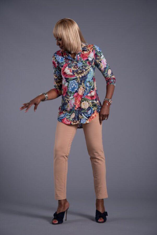 Shop Attitudes by Renee Printed Big Shirt