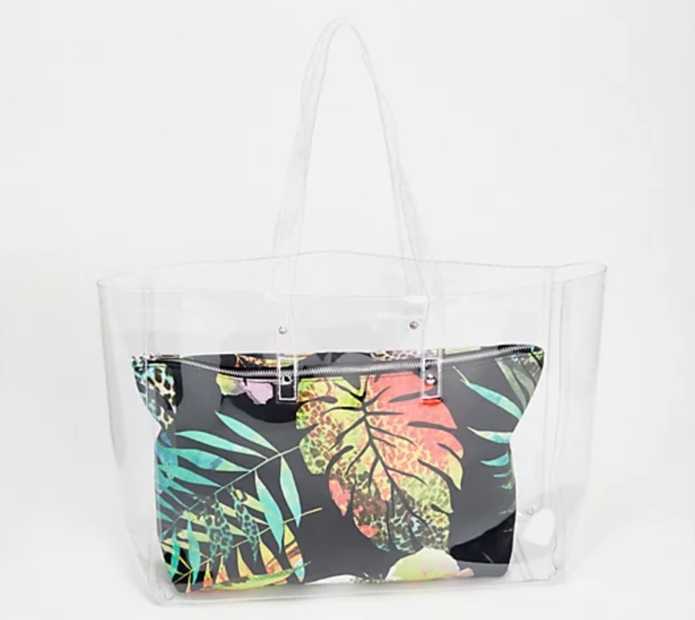 2 in 1 Beach Bag with Removable Insert
