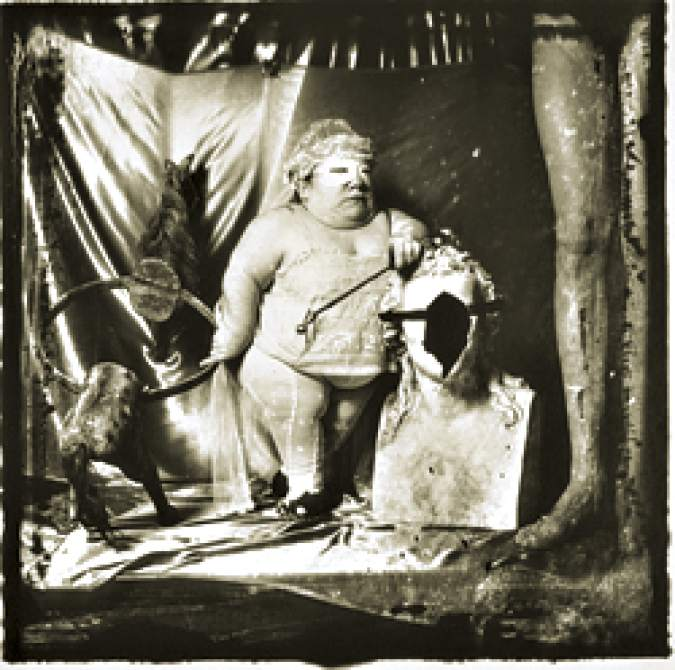 Joel-Peter Witkin's Portrait of a Dwarf