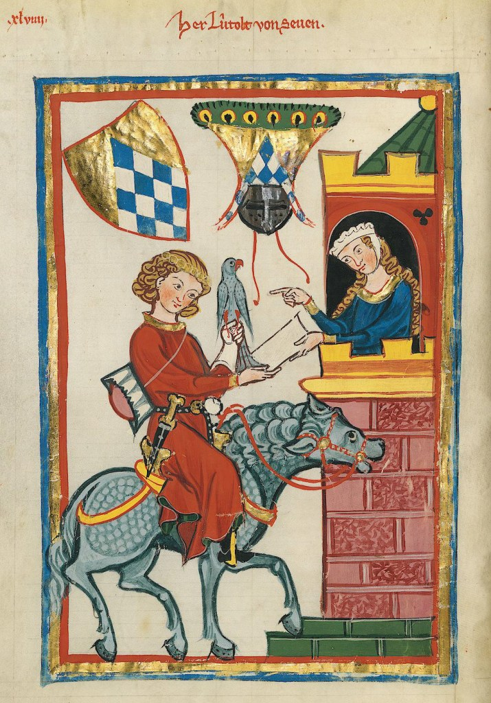 From the fourteenth century Codex Manesse