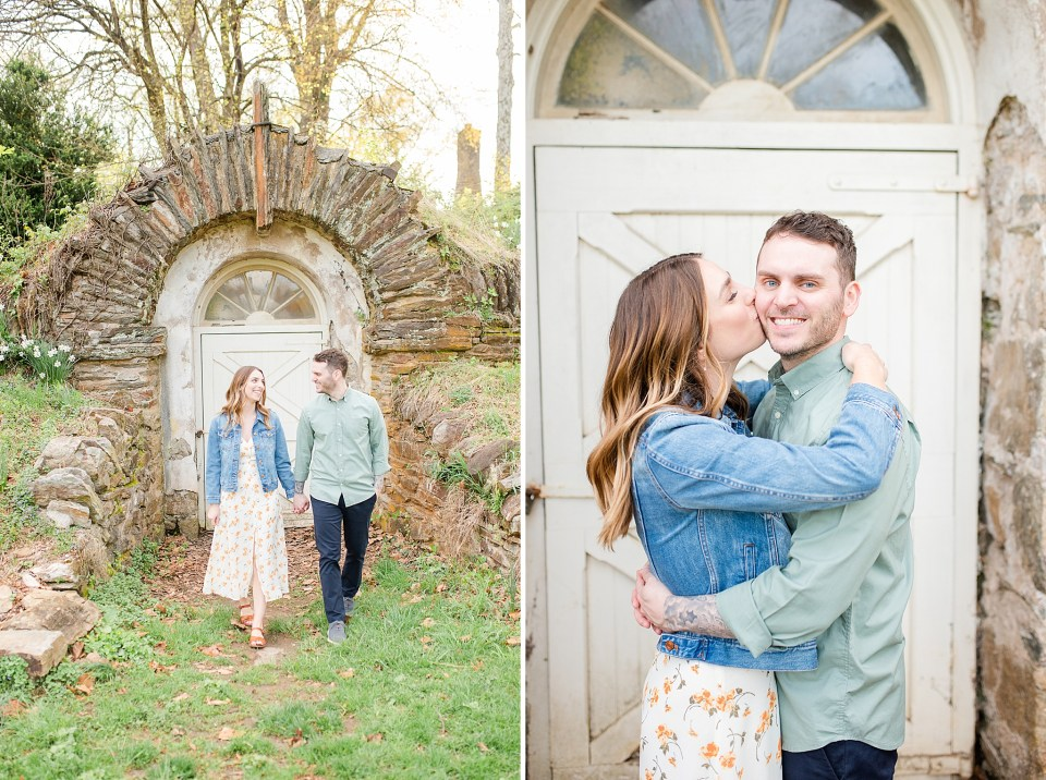 Valley Forge engagement session with wedding photographer Renee Nicolo Photography