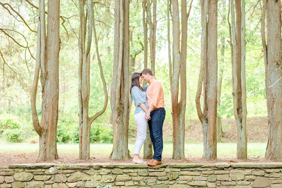 Parque at Ridley Creek engagement session by Renee Nicolo Photography
