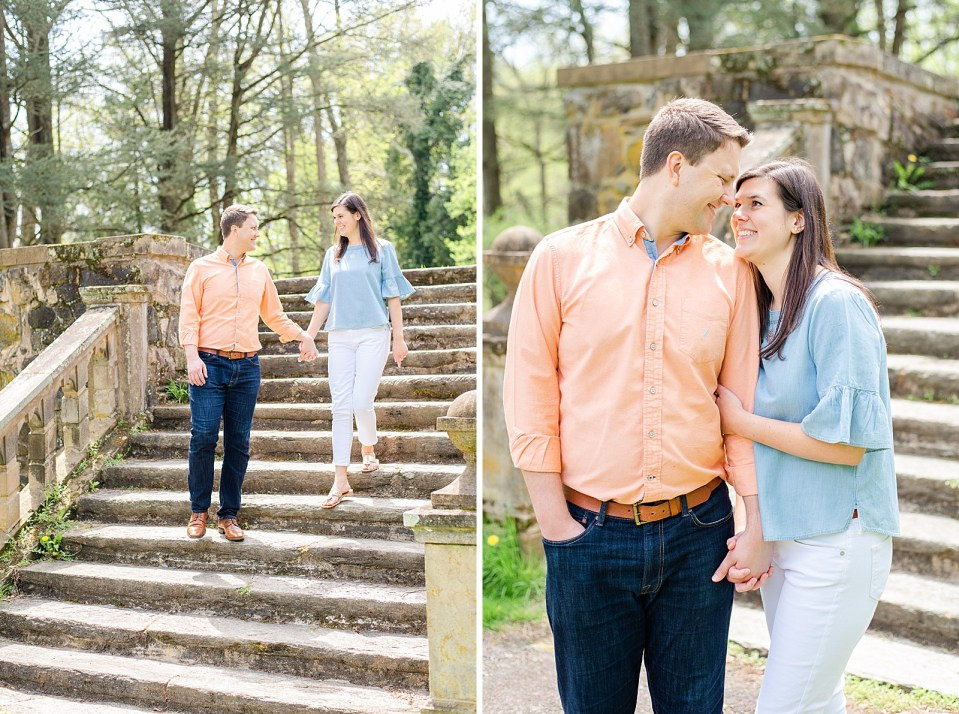 Bucks County engagement session with Renee Nicolo Photography