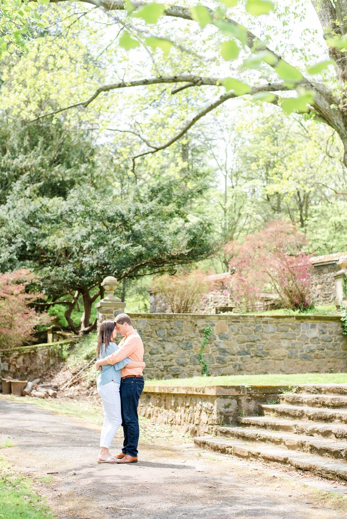 garden inspired engagement session with Renee Nicolo Photography