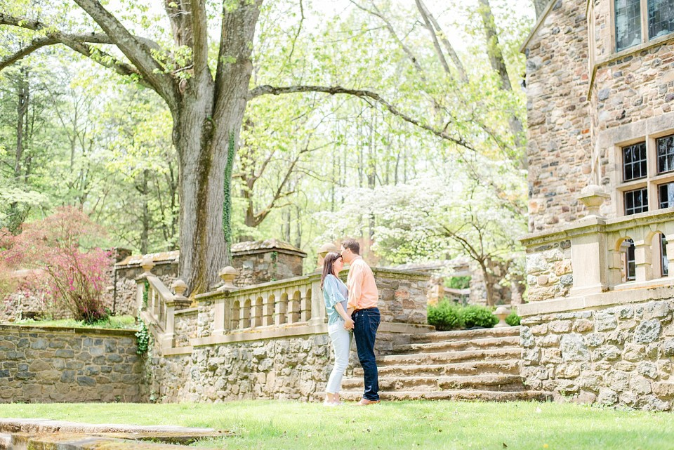 outdoor engagement session with Renee Nicolo Photography