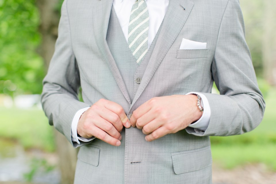grey suit inspiration for PA wedding photographer Renee Nicolo Photography