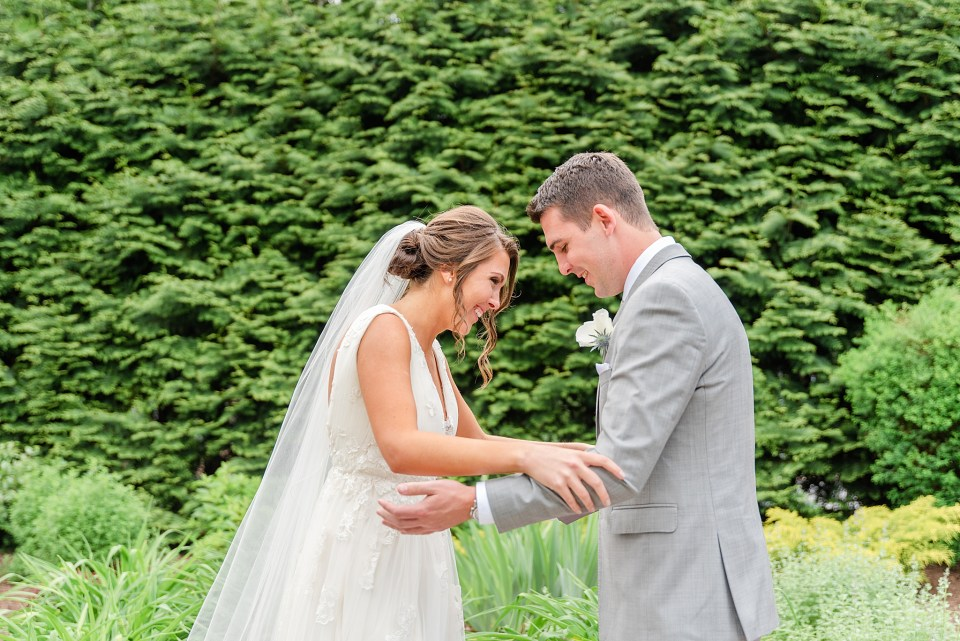 first look at Beaumont Inn with wedding photographer Renee Nicolo Photography