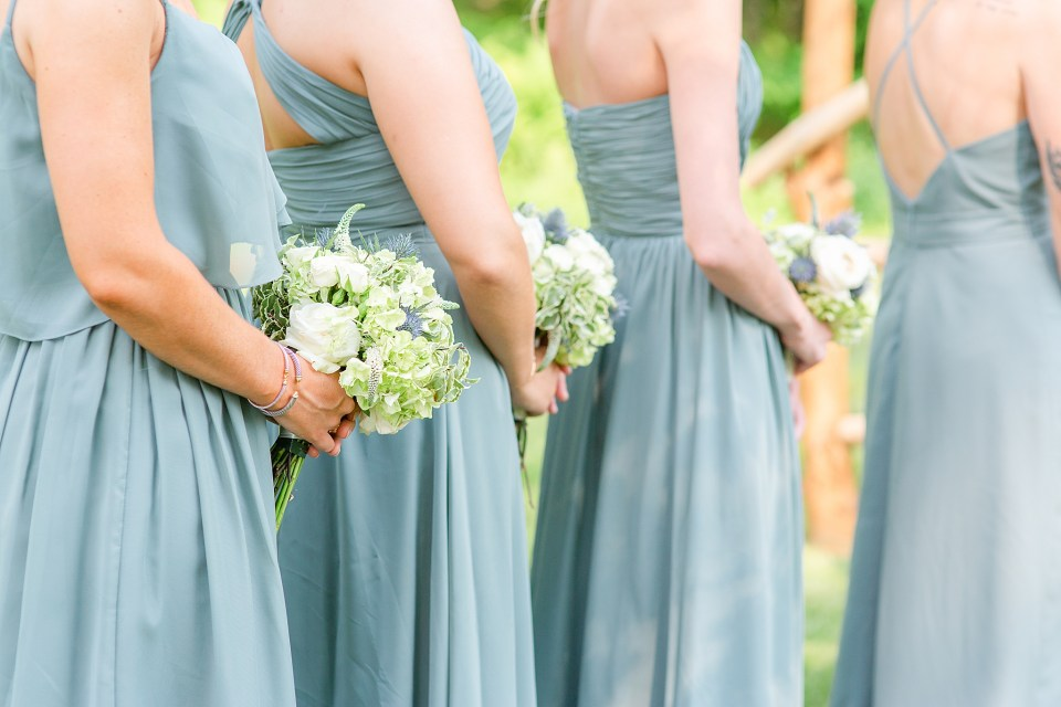 MCR Events bouquets photographed by PA wedding photographer Renee Nicolo Photography